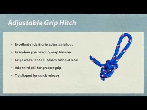 Adjustable Grip Hitch