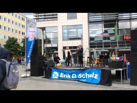 Wahlkampfendspurt Erik O Schulz