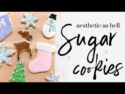 SUGAR COOKIES ∙| baking with meghan |∙ BAKEMAS DAY 8