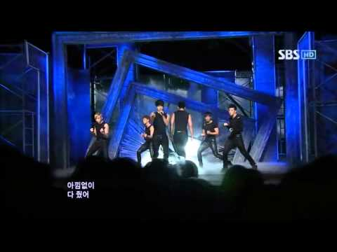 2PM - Don't stop can't stop + Without U @ SBS Inkigayo 인기가요 100502