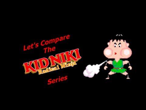 Let's Compare The ( Kid Niki Radical Ninja ) Series