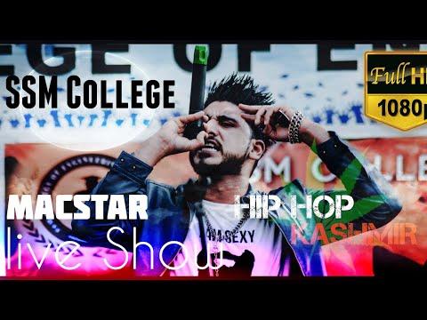 Hip Hop Kashmir | Full Hd Live Show | Faisal Macroo MacStar | SSM College | E Tonner | 12th Nov 2017