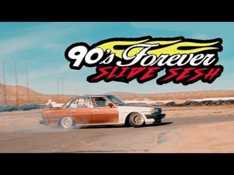 90's Forever Slide Session at Apple Valley Speedway   4K