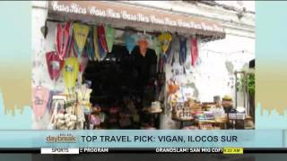 Top Travel Pick: Vigan, Ilocos Sur
