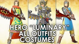 Dragon Quest XI All Main Hero Character Costumes And Armour Locations Full Guide