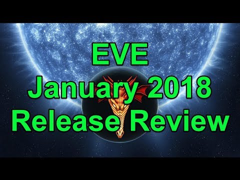 EVE January 2018 Release Review - EVE Online Live Presented in 4k