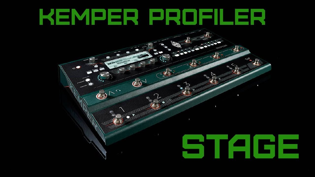 Everything You Need to Know About The Kemper Profiler Stage!