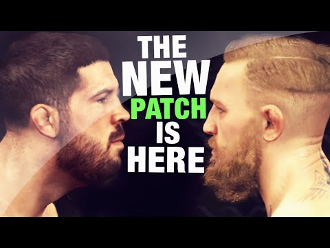 Ea Sports UFC - New Patch Gameplay , New Dlc Fighters And Info