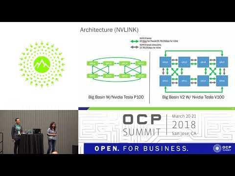 OCPUS18 – Facebook Flexible GPU Expander Big Basin Refresh