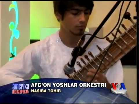 Afg'on sozandalar Amerikada konsert berdi/Afghan youth orchestra