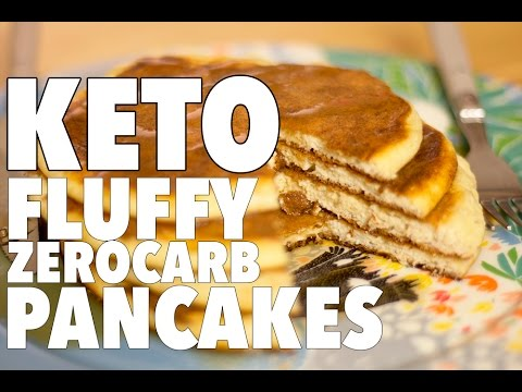 Ultimate Low Carb Pancake Fluffy Keto Recipe Youtube