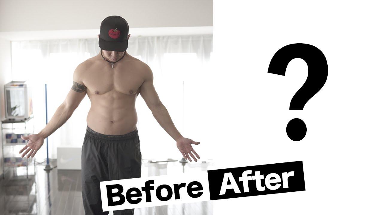 1ヵ月半行った短期ダイエットの結果発表!!【誰でもすぐ始められる速攻効果ローカーボ法のやり方も紹介】