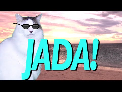Happy Birthday Jada Epic Cat Happy Birthday Song Youtube