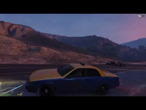 GTA 5 - Real life/Taxi job Role play {Ep.1: A Prius Driver Almost Kills Me}