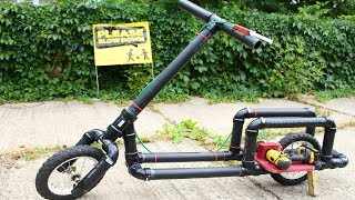 How To Make a Drill Powered Electric Bike - Simple and Cheap