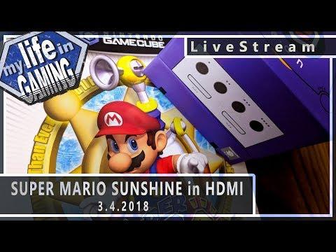 Super Mario Sunshine Using the EON HDMI Plug and Play :: 3.4.2018 LiveStream / MY LIFE IN GAMING - Super Mario Sunshine Using the EON HDMI Plug and Play :: 3.4.2018 LiveStream / MY LIFE IN GAMING