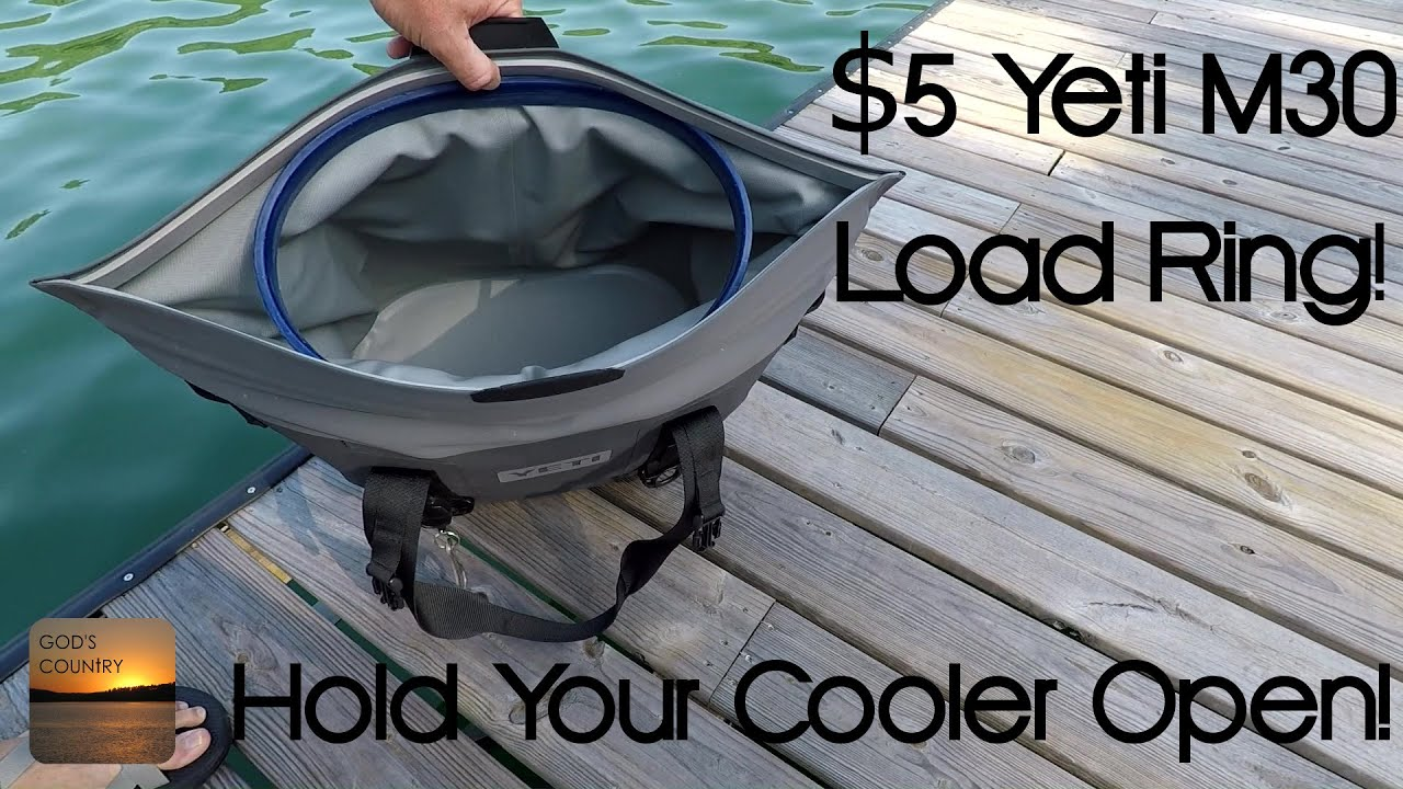 Yeti M30 Load Ring! Hold your Yeti cooler open with no hands!
