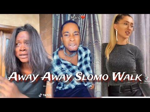 Best Of Arya  starr Away Slomo Walk Challenge Compilation || Arya starr Away Away