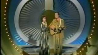 Jan Howard and Bill Anderson on the Johnny Cash TV Show