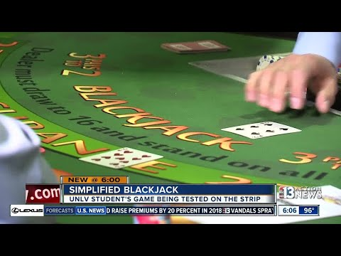UNLV student's blackjack variation being tested on Las Vegas Strip