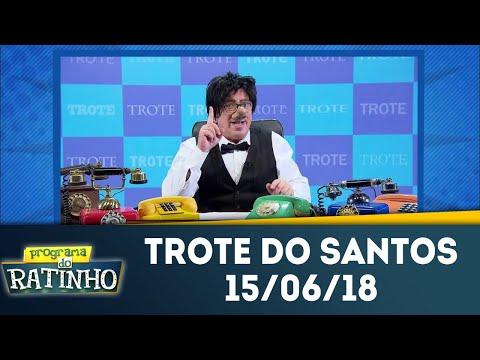 O Trote Do Santos | Programa Do Ratinho (15/06/18)