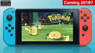 More Evidence For A Nintendo Switch Pokemon Release In 2018?