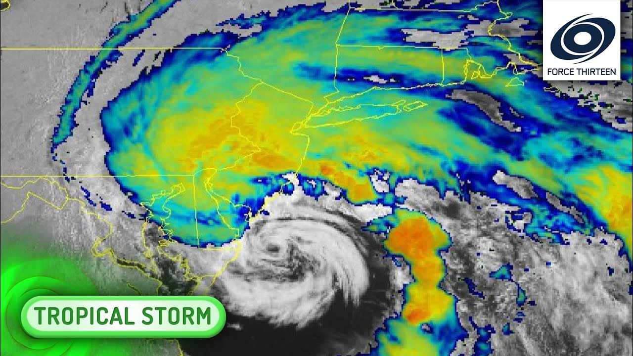 Tropical Storm Fay, Record Earliest 'F' Storm, a Northeast Flash ...
