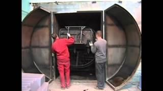 видео Применение пара для производства бетонных изделий