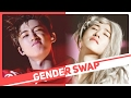 K-POP GENDER SWAP - BOYS UNLEASH THEIR FEMININE SIDE!