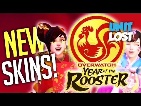 Overwatch - YEAR OF THE ROOSTER! New Event! New Skins!