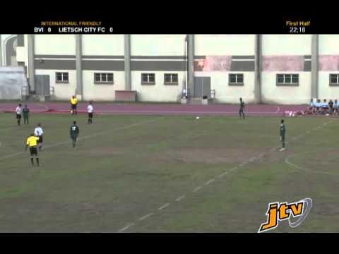 BVI vs Lietsch City FC - Erste Halbzeit