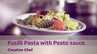 Creative Chef - Fusilli Pasta With Pesto Sauce - Kappa Tv