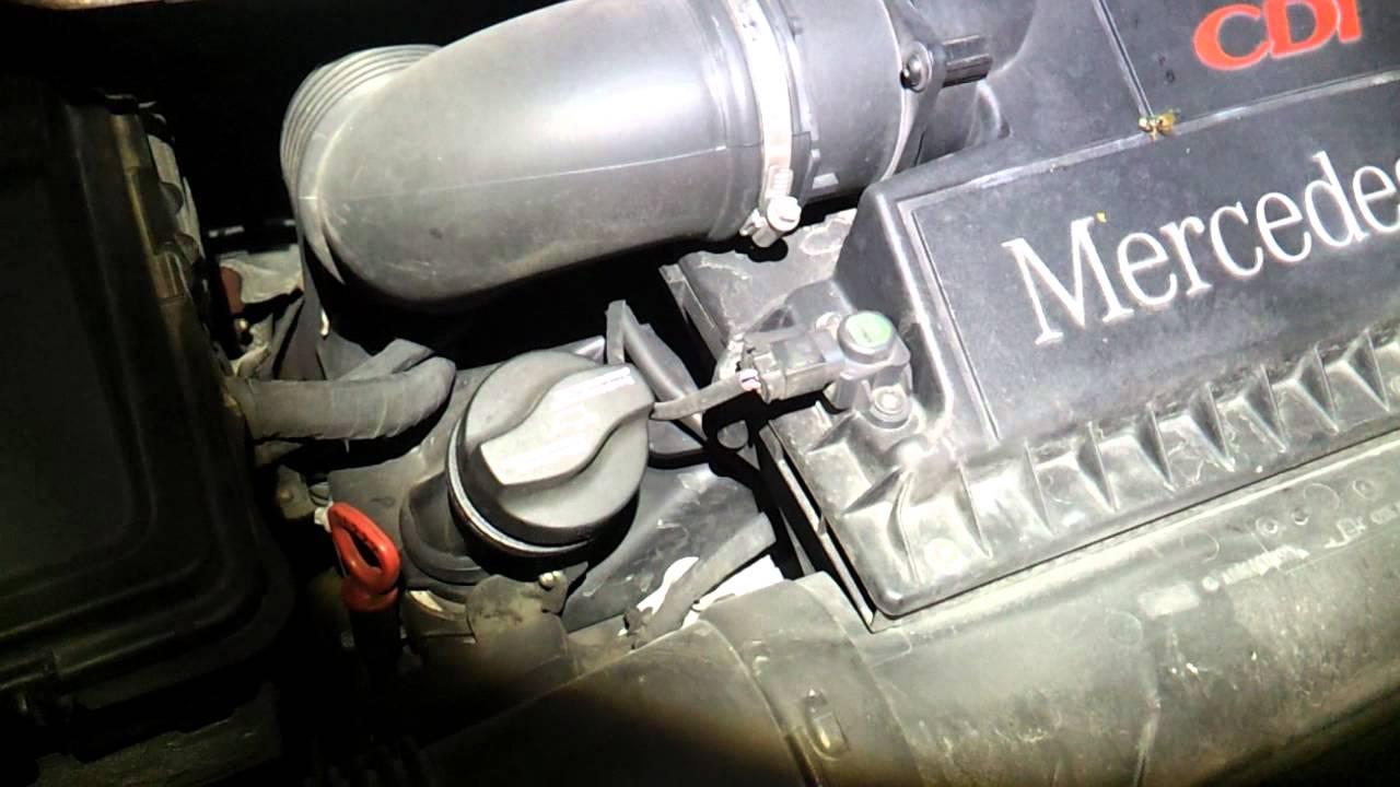 Viano w639 3 0 CDI V6 quietscht beim Motor abstellen