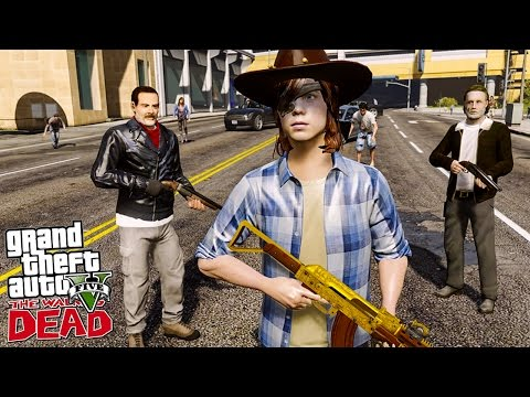 THE WALKING DEAD #23 J'AI RETROUVÉ RICK ET CARL !! (GTA 5 MOD)