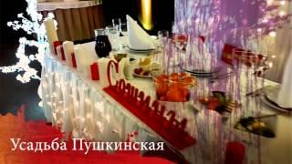 Свадьба зимой за городом это Пушкинская Усадьба
