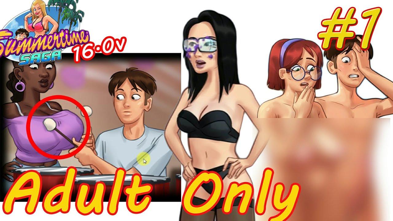 Adult Games Summertime Saga episode 1, summertime saga 16.0 gameplay, adult only game full hd