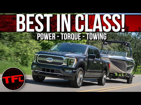Breaking News: The New 2021 Ford F-150 Is the Most Powerful & Highest Tow Rated Half-ton Truck Ever!