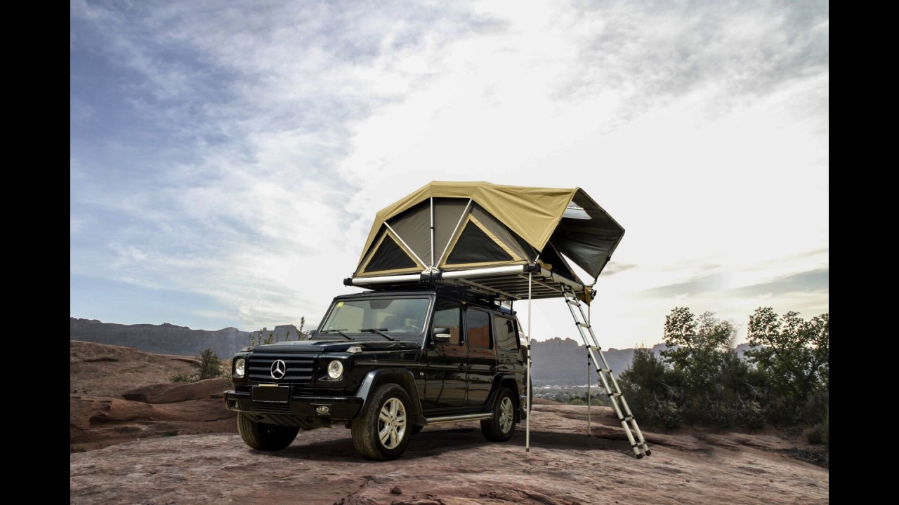 Wildland 2017 New Roof Top Tent Land Crusier For Famil