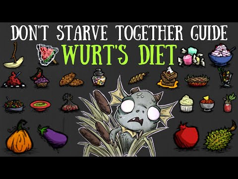 Don't Starve Together Guide: Wurt's Diet (