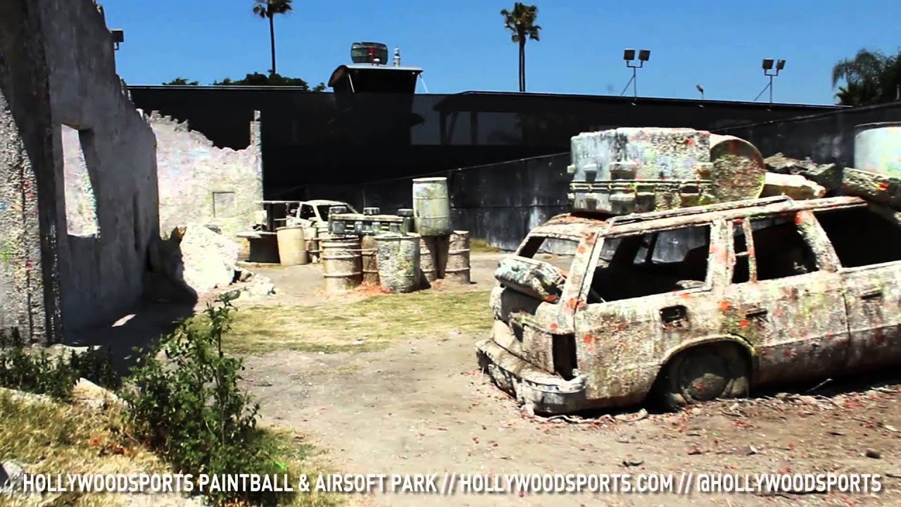 hollywood sports paintball amp airsoft park apocalypse