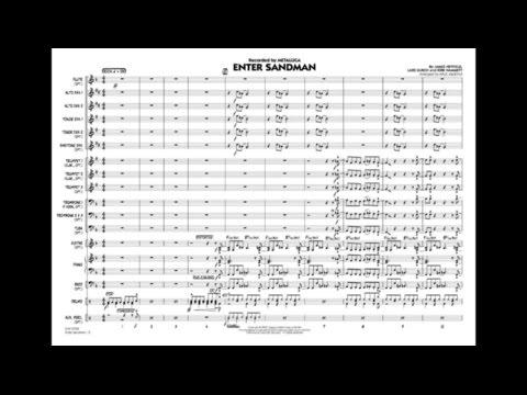 Enter Sandman arranged by Paul Murtha
