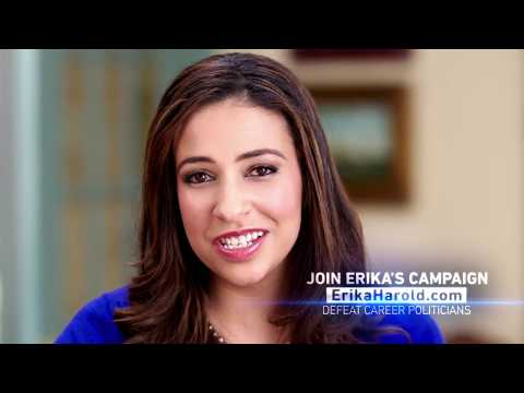 Erika Harold Announces Bid for Attorney General
