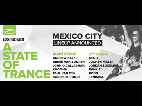 Rodg Live at A State Of Trance Festival, Mexico City 10.10.2015