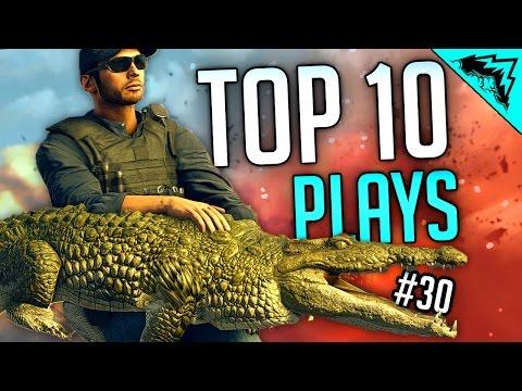 GATERKING - Battlefield Hardline TOP 10 EPIC Moments (Bonus Plays #30)