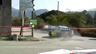 WRC Tour de Corse 2007 - stage 3 Subaru Petter Solberg