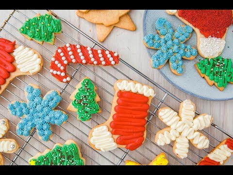 How To Make Perfect Sugar Cookies With Buttercream Frosting | Delish Insanely Easy