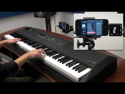 Pipe Organ and Hammond B3-style Drawbar Organ with SampleTank for iPhone / iPod touch and iRig MIDI