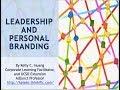 Webinar: Leadership and Personal Branding