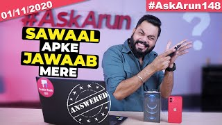My YouTube Income💰,Micromax In Unboxing📦,iPhone 12 Giveaway,realme X7 Launch,PUBG Return-#AskArun148