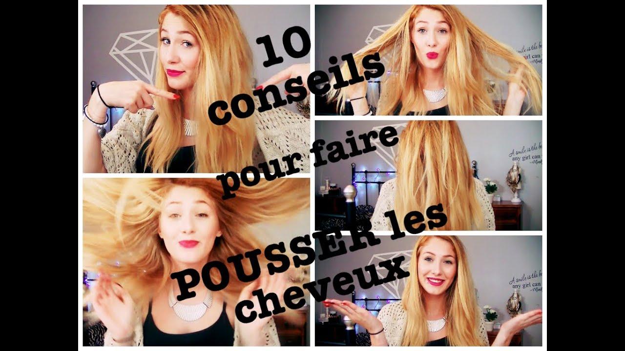 10 conseils pour faire pousser ses cheveux